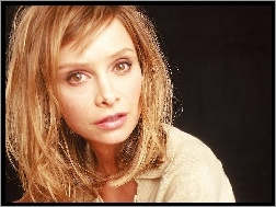Calista Flockhart, blond w�osy